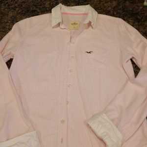 Hollister Preppy Button Up